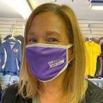 Alice Z. Markinson Professional Organizer Mask Headshot